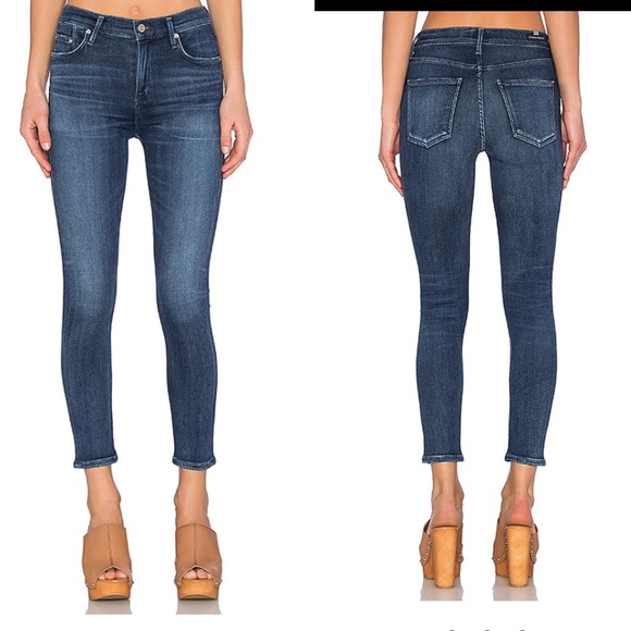 Citizens Of Humanity Denim - Citizens of humanity rocket crop high rise jeans